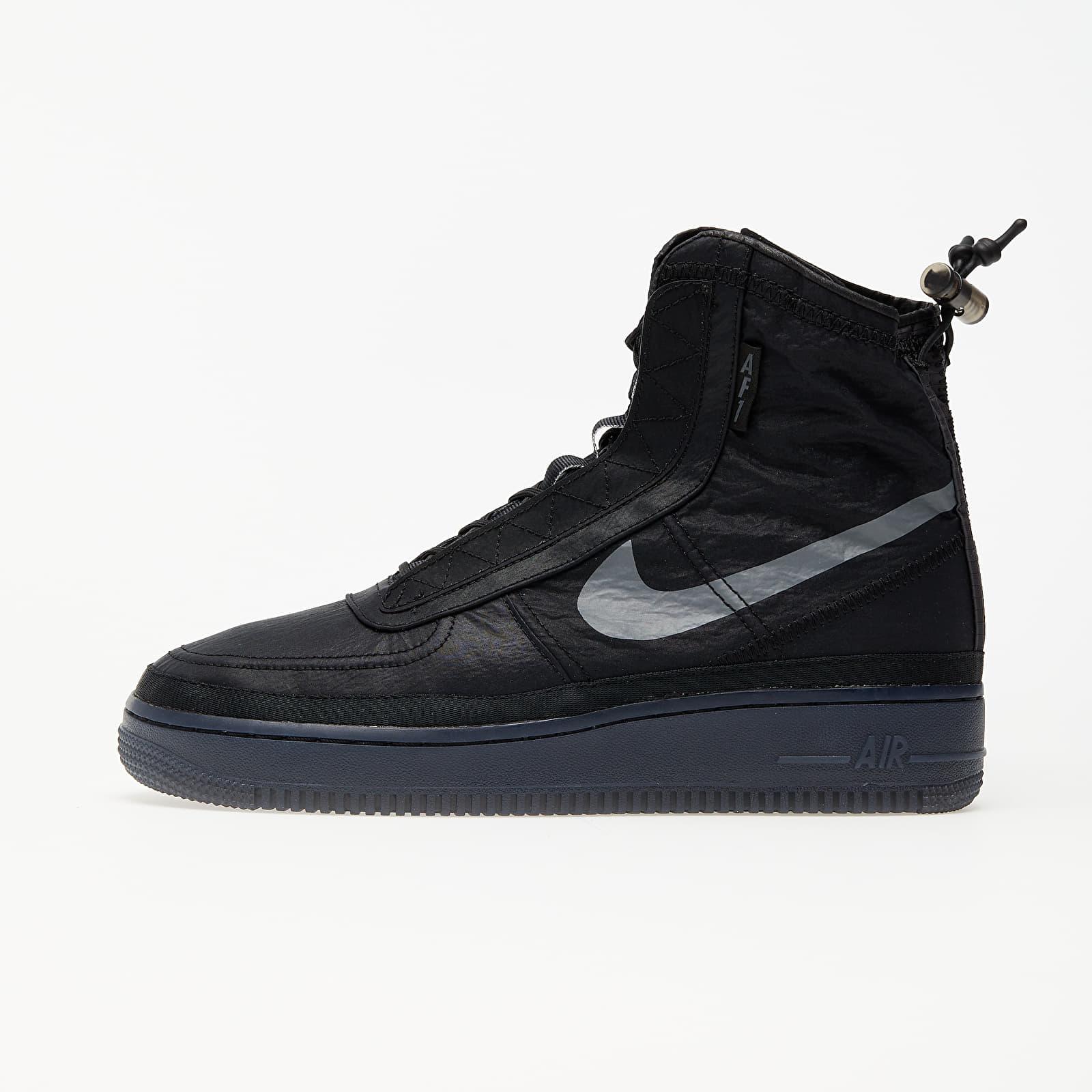Women's shoes Nike W Air Force 1 Shell Black/ Dark Grey-Black