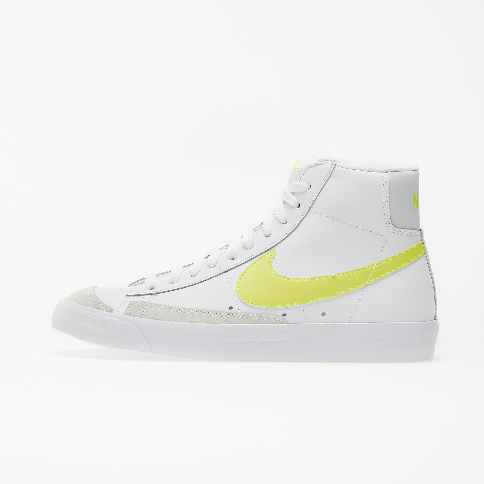Women's shoes Nike Wmns Blazer Mid '77 White/ Lemon Venom