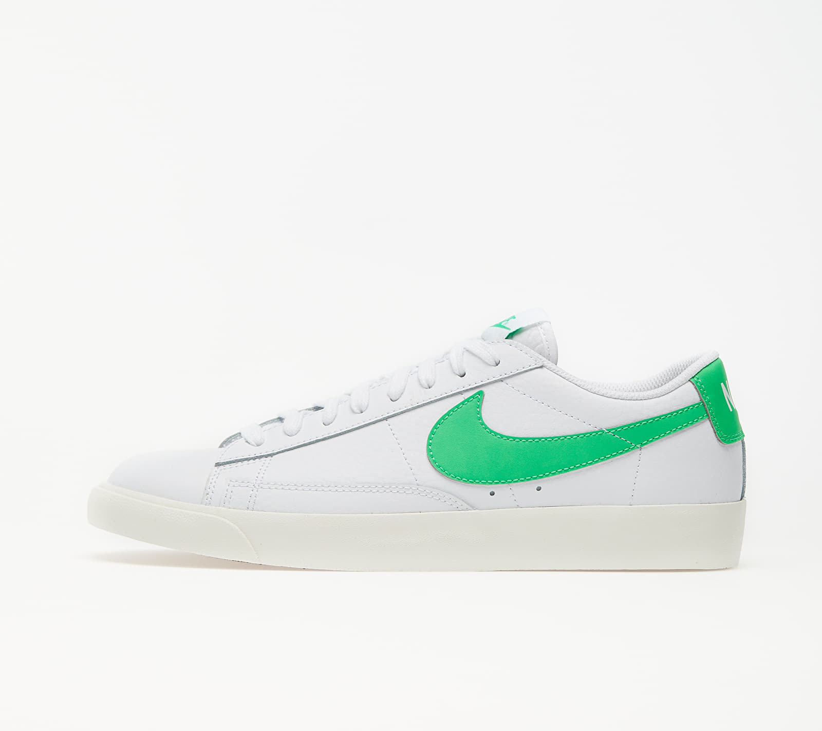 Nike Blazer Low Leather White/ Green Spark-Sail EUR 45.5