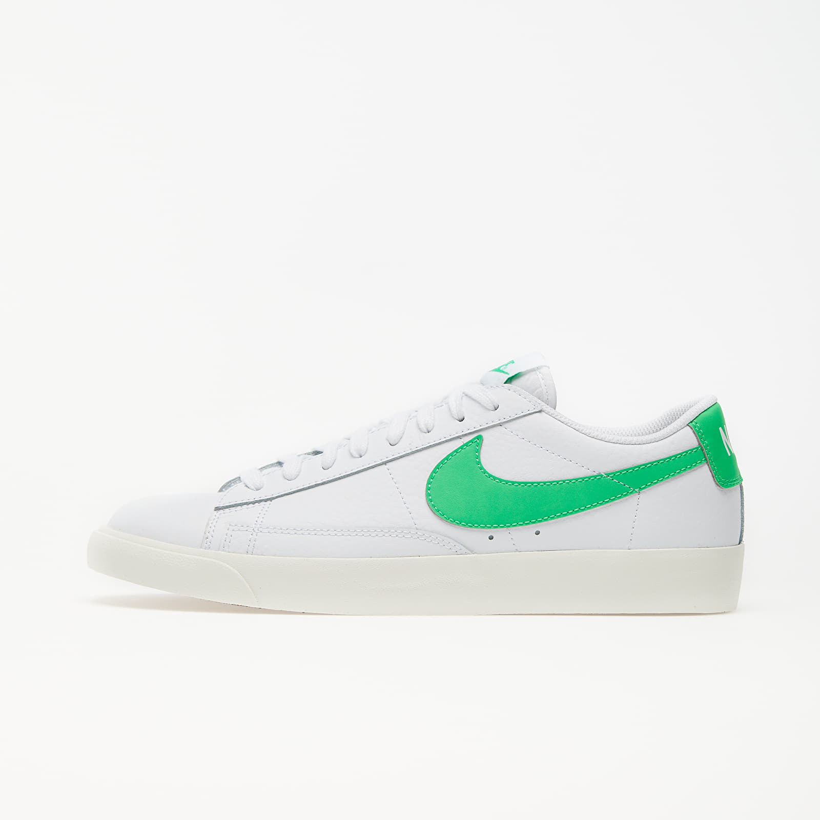 Men's shoes Nike Blazer Low Leather White/ Green Spark-Sail