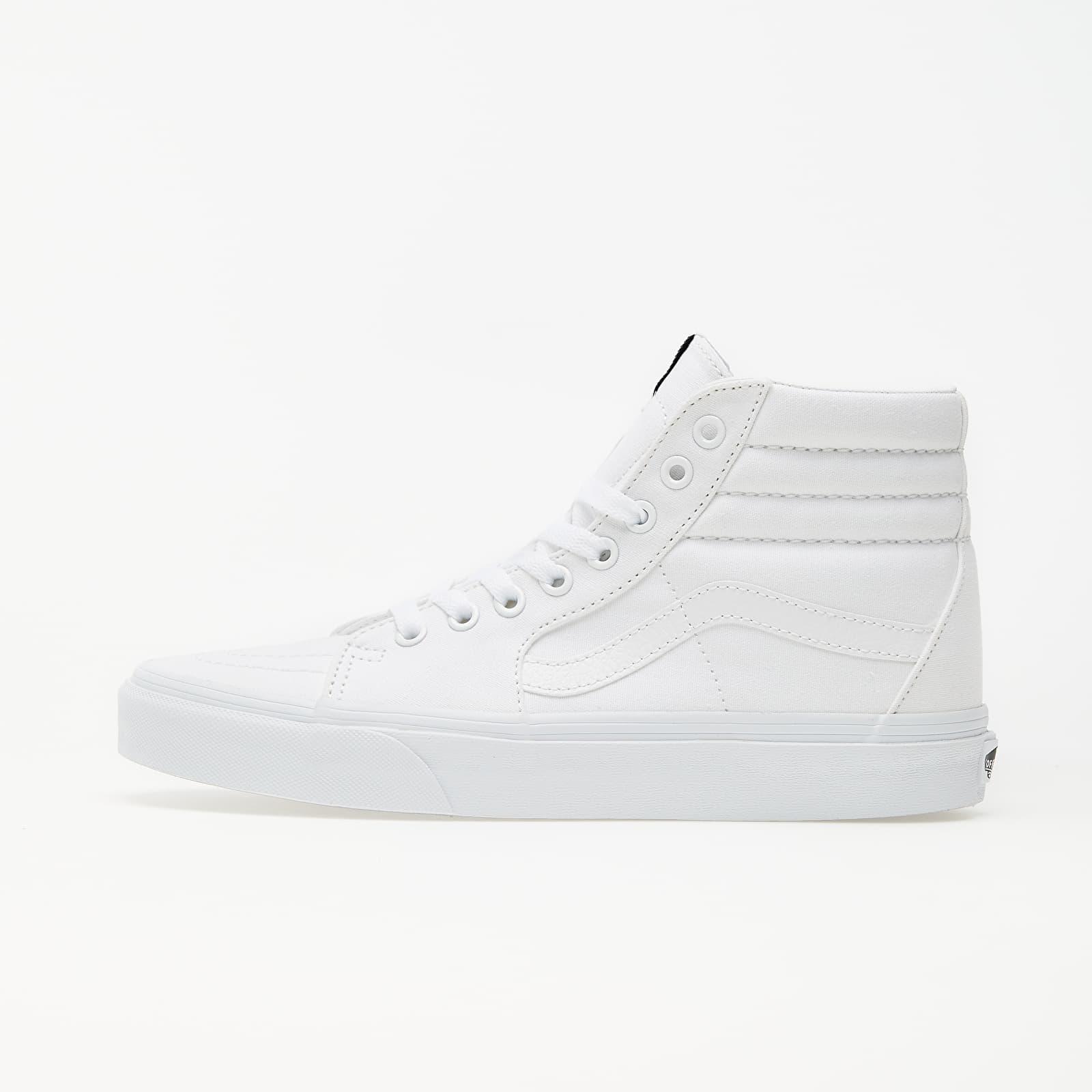 Pánské tenisky a boty Vans Sk8-Hi True White