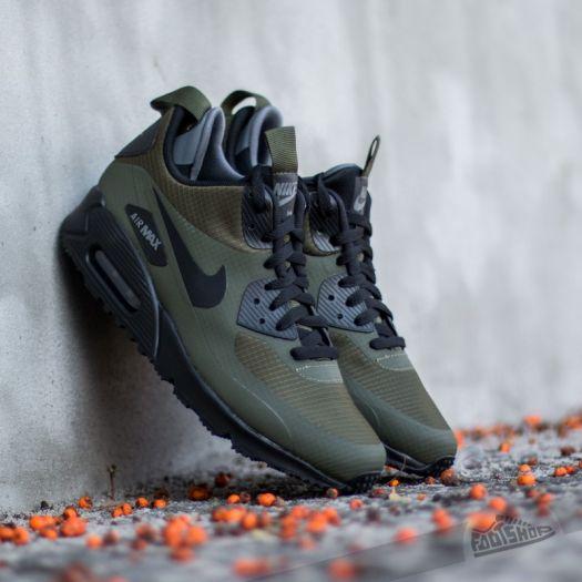 Nike Sportswear Shoes Air Max 90 Ultra Mid Winter Black