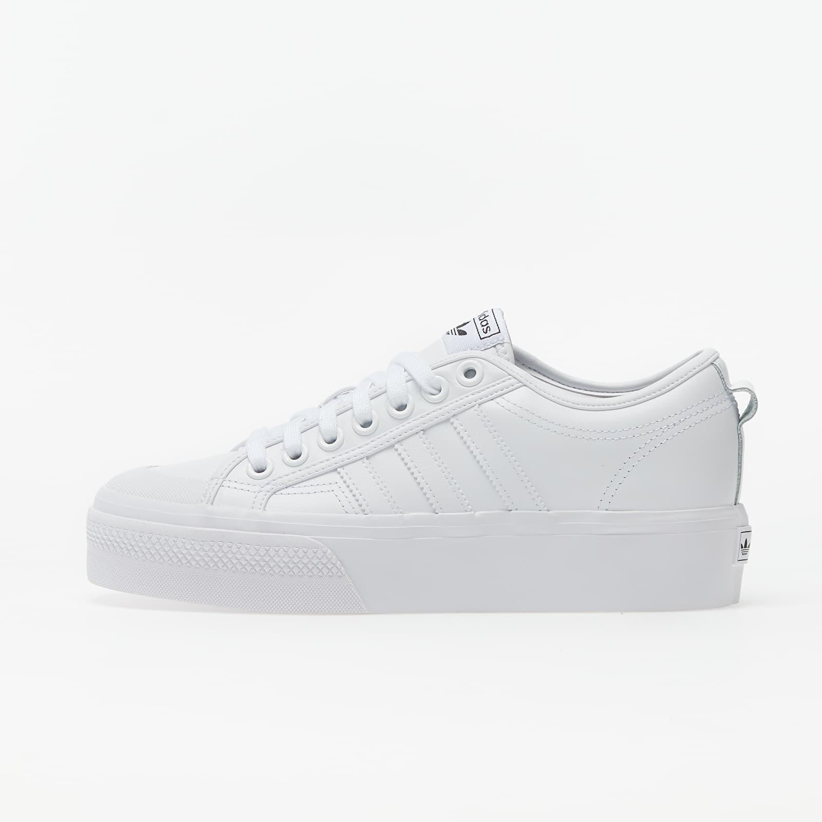 Dámske topánky a tenisky adidas Nizza Platform W Ftw White/ Ftw White/ Core Black