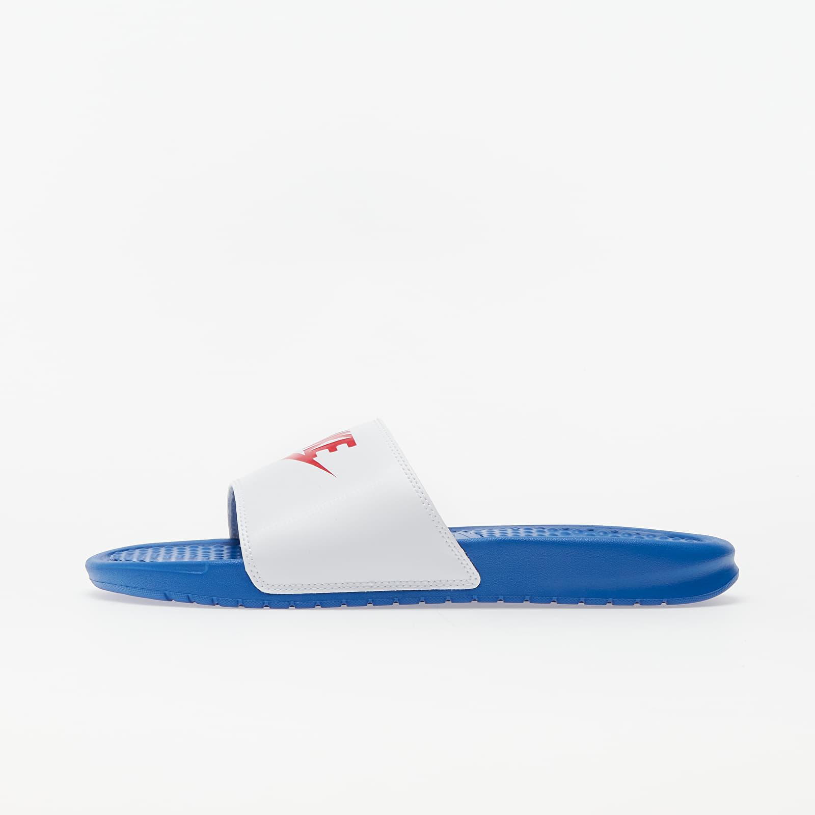 Pánské tenisky a boty Nike Benassi JDI Game Royal/ University Red-White