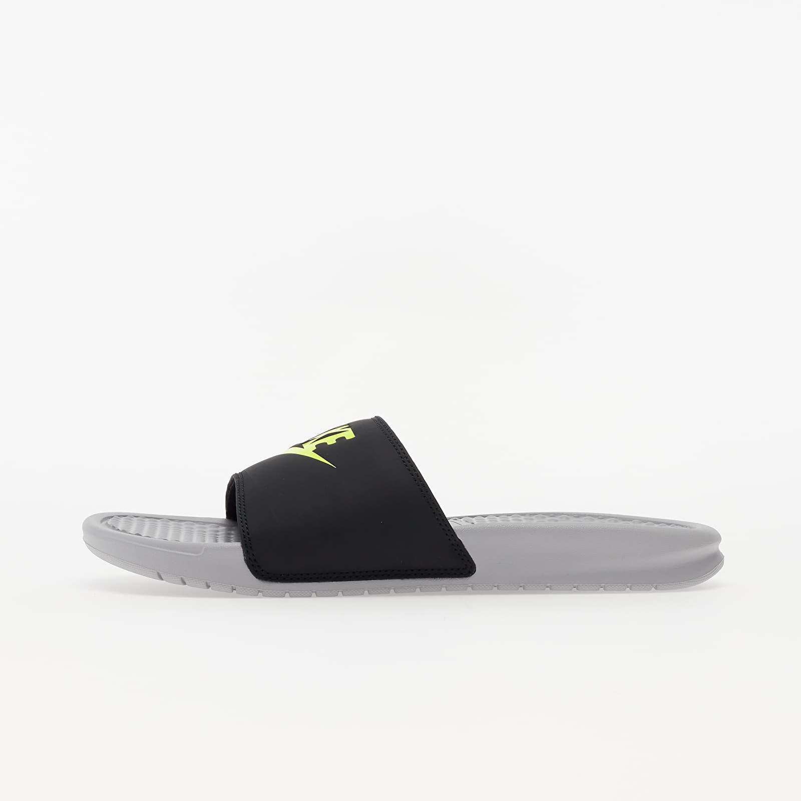 Férfi cipők Nike Benassi JDI Wolf Grey/ Volt-Black