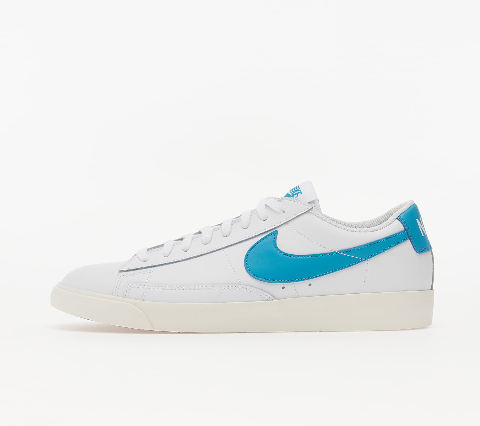 Nike Blazer Low Leather White/ Laser Blue-Sail EUR 45.5