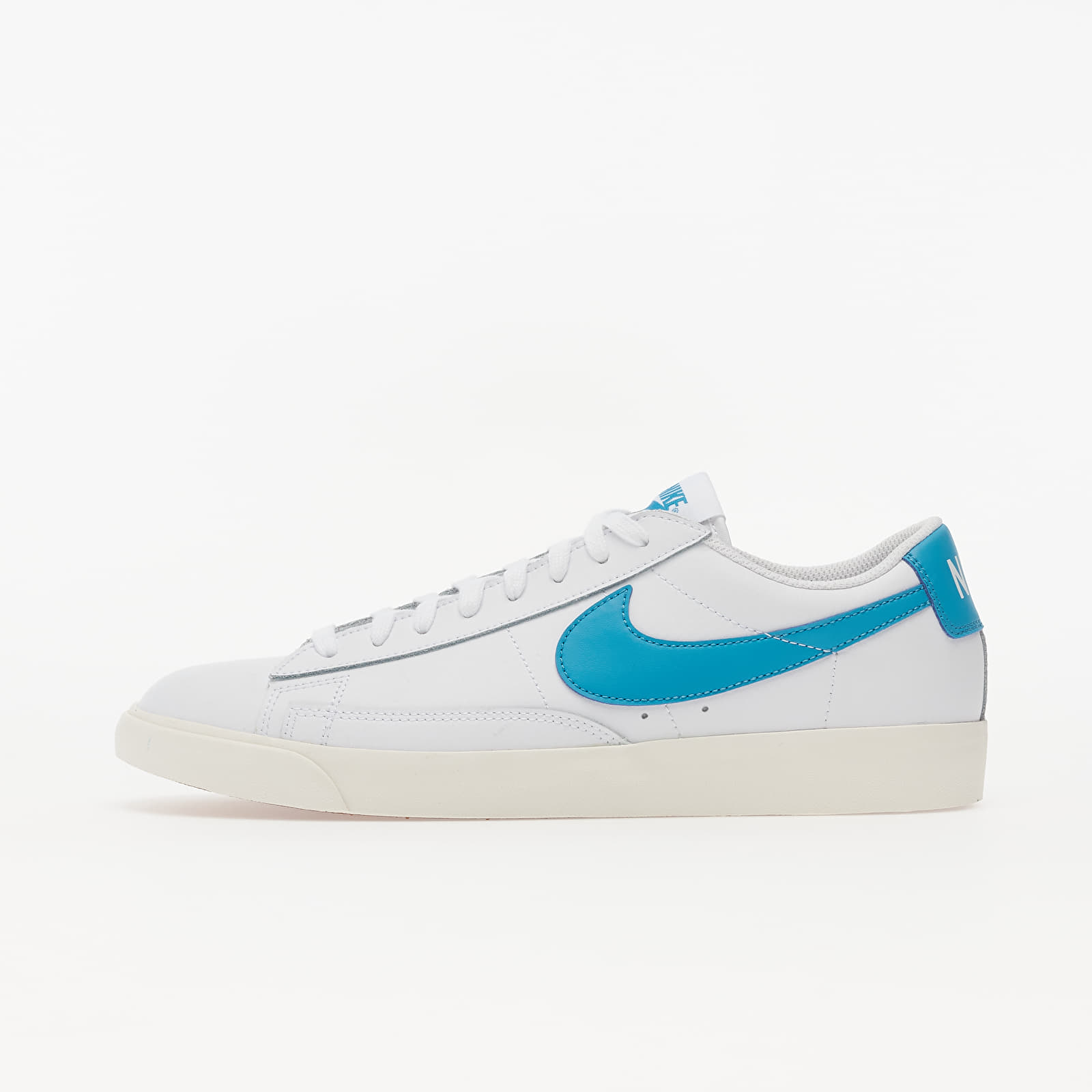 Men's shoes Nike Blazer Low Leather White/ Laser Blue-Sail