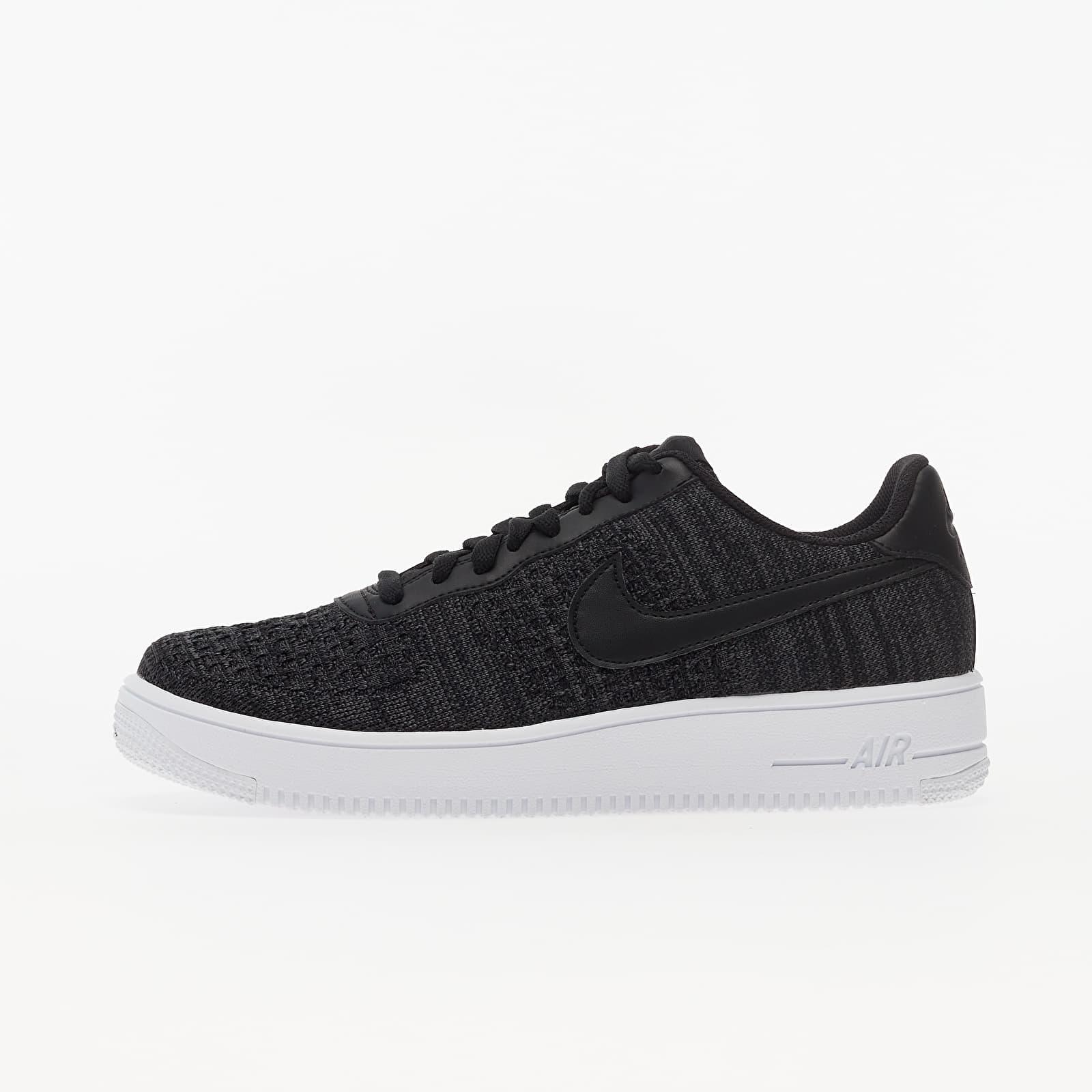 polilla Desaparecido Imbécil  Men's shoes Nike Air Force 1 Flyknit 2.0 Black/ Anthracite-White