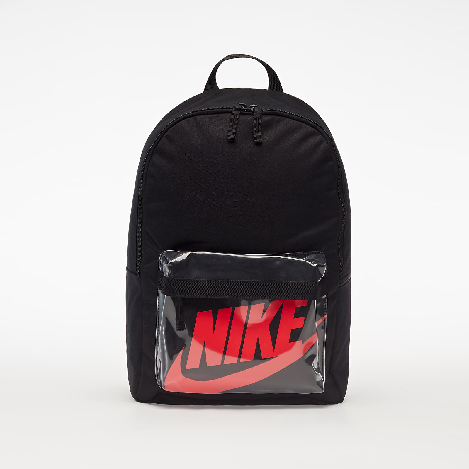 Batohy Nike Heritage Backpack Black/ Black/ Laser Crimson
