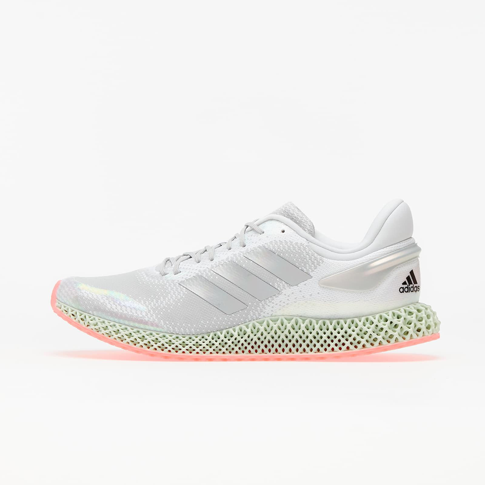 Pánske tenisky a topánky adidas 4D Run 1.0 Ftw White/ Silver Metalic/ Signature Pink