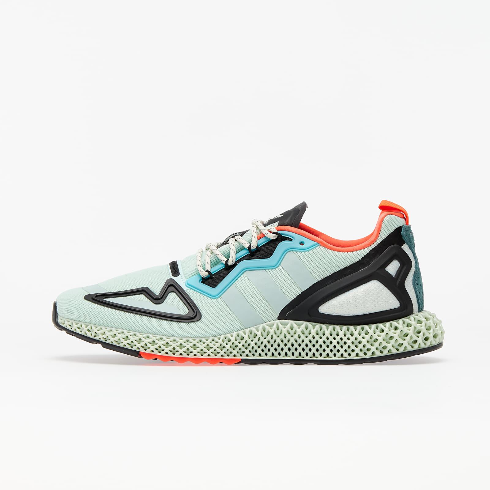 Men's shoes adidas ZX 2K 4D Dash Green/ Green Tint/ Raw Green
