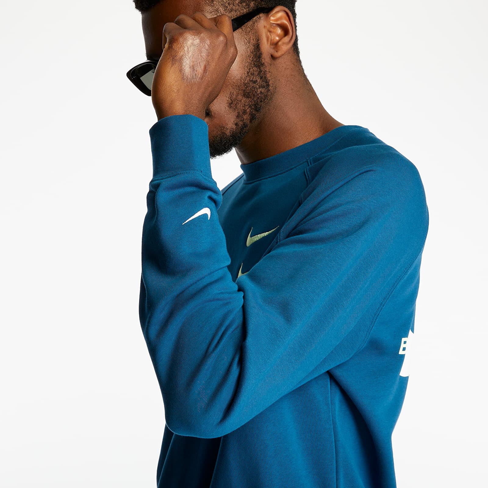 Sweatshirts Nike Sportswear Swoosh Crewneck Blue