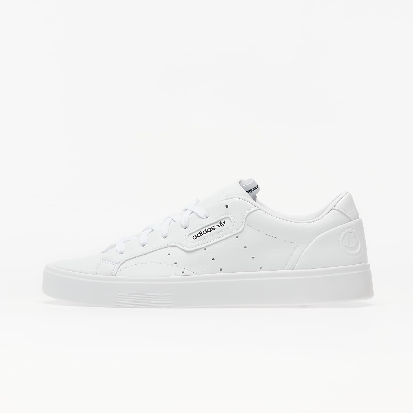 adidas Sleek W Vegan Ftw White/ Green/ Core Black EUR 39 1/3