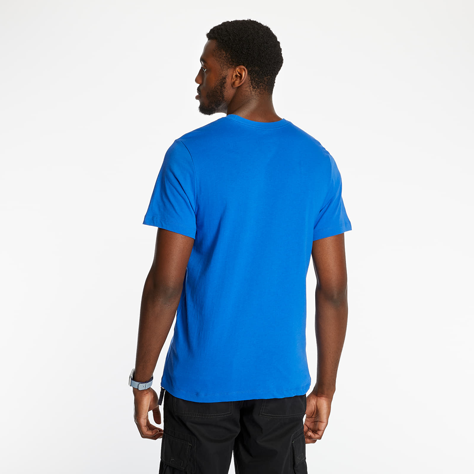 Nike Sportswear Just Do It Swoosh Tee Game Royal/ White, Blue
