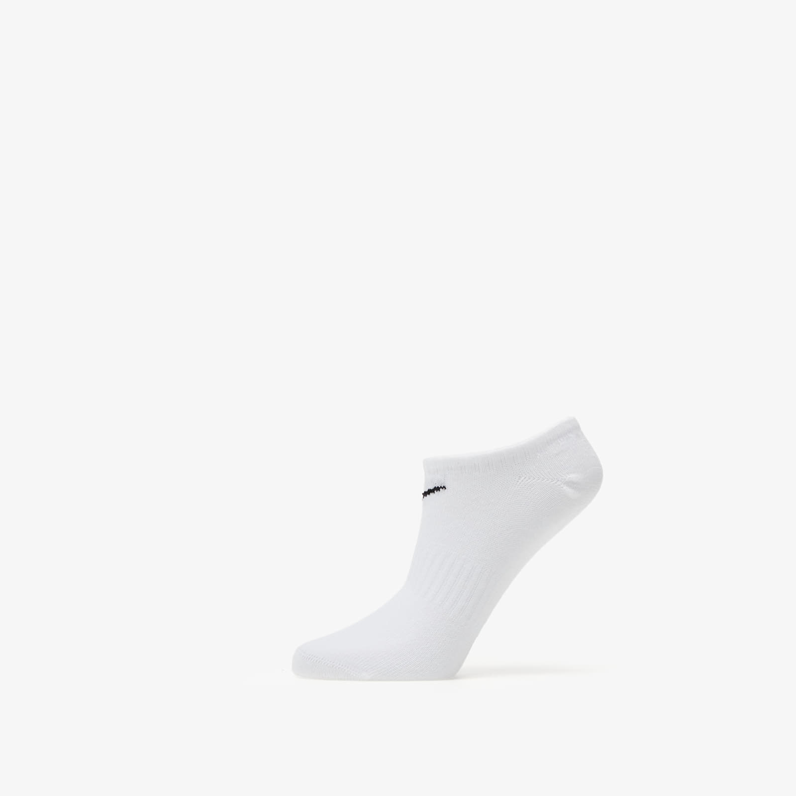 Calzetti Nike Everyday Cotton Lightweight No Show Socks 3 Pack White