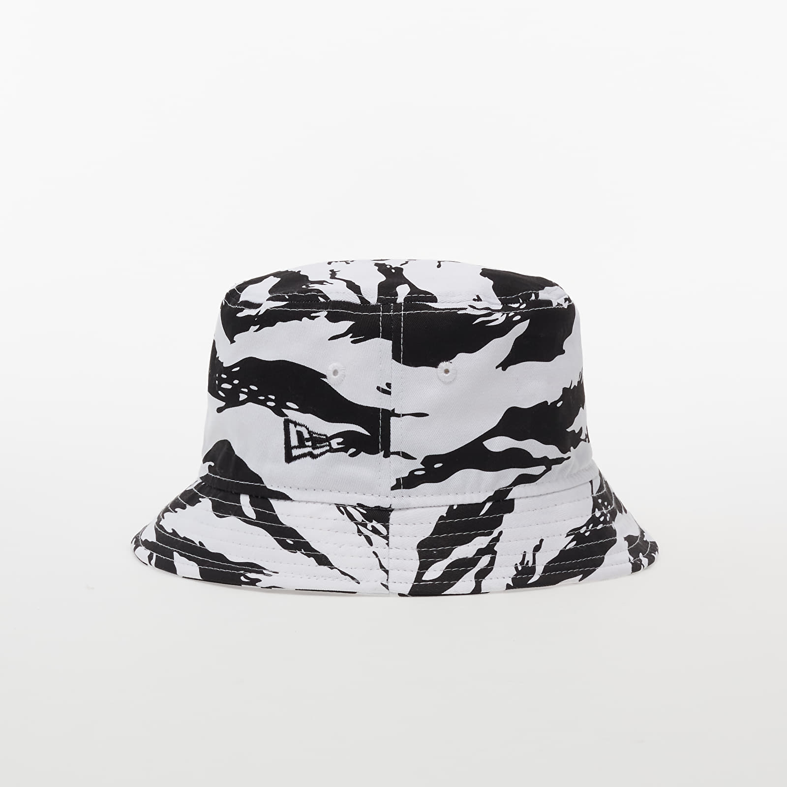 New Era Tiger Camo Bucket Hat Black/ White