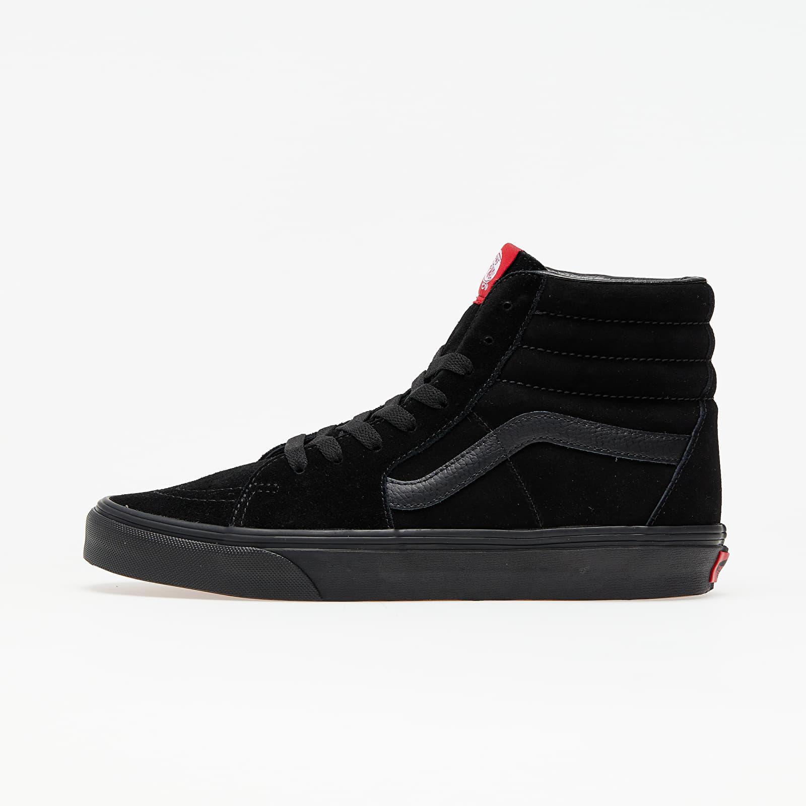 Vans Sk8-Hi Black/ Black Suede EUR 40.5