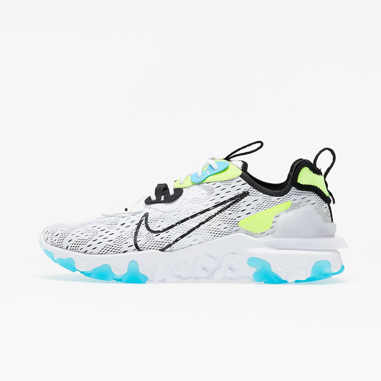 Nike React Vision White/ Black-Volt-Blue Fury EUR 42