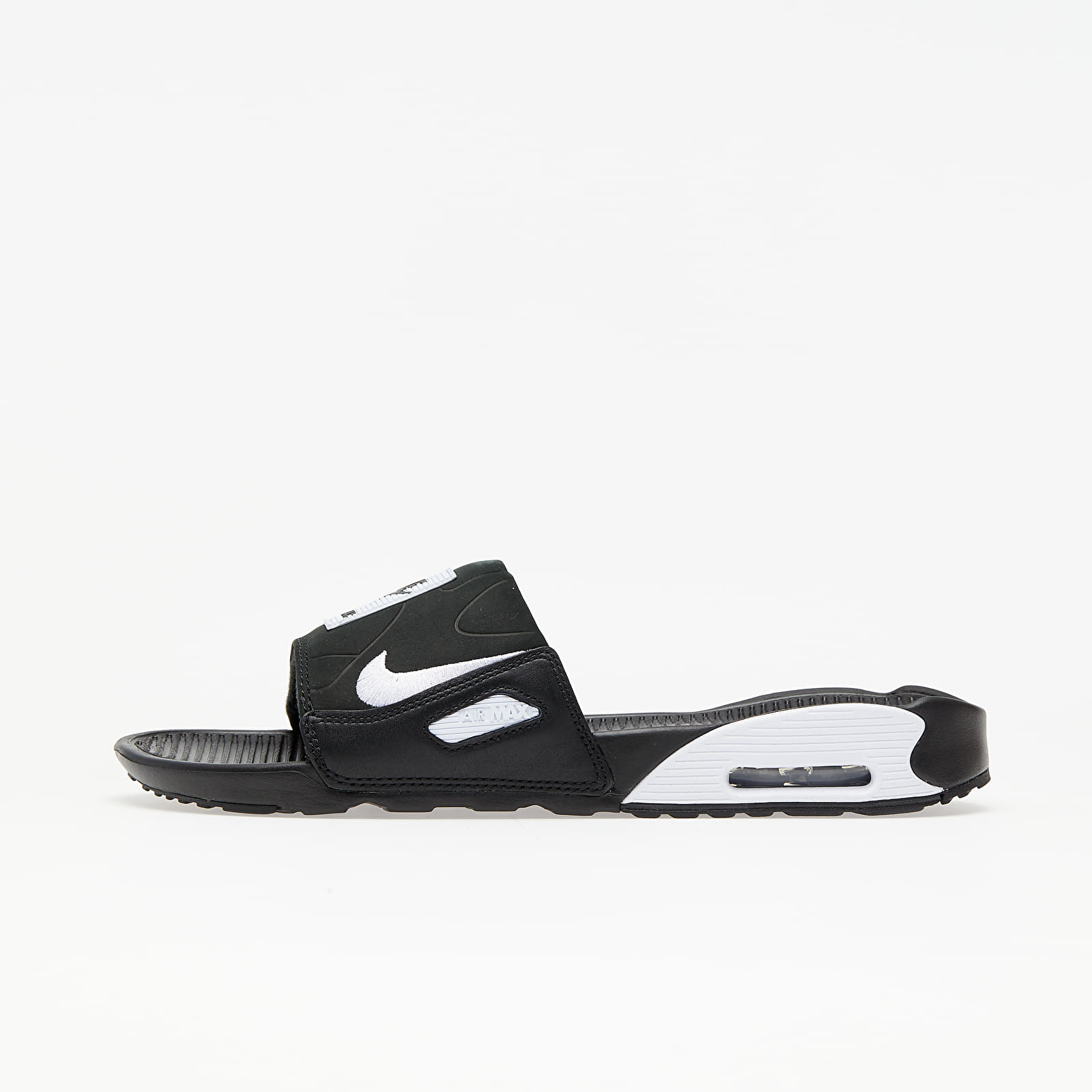 Männer Nike Air Max 90 Slide Black/ White