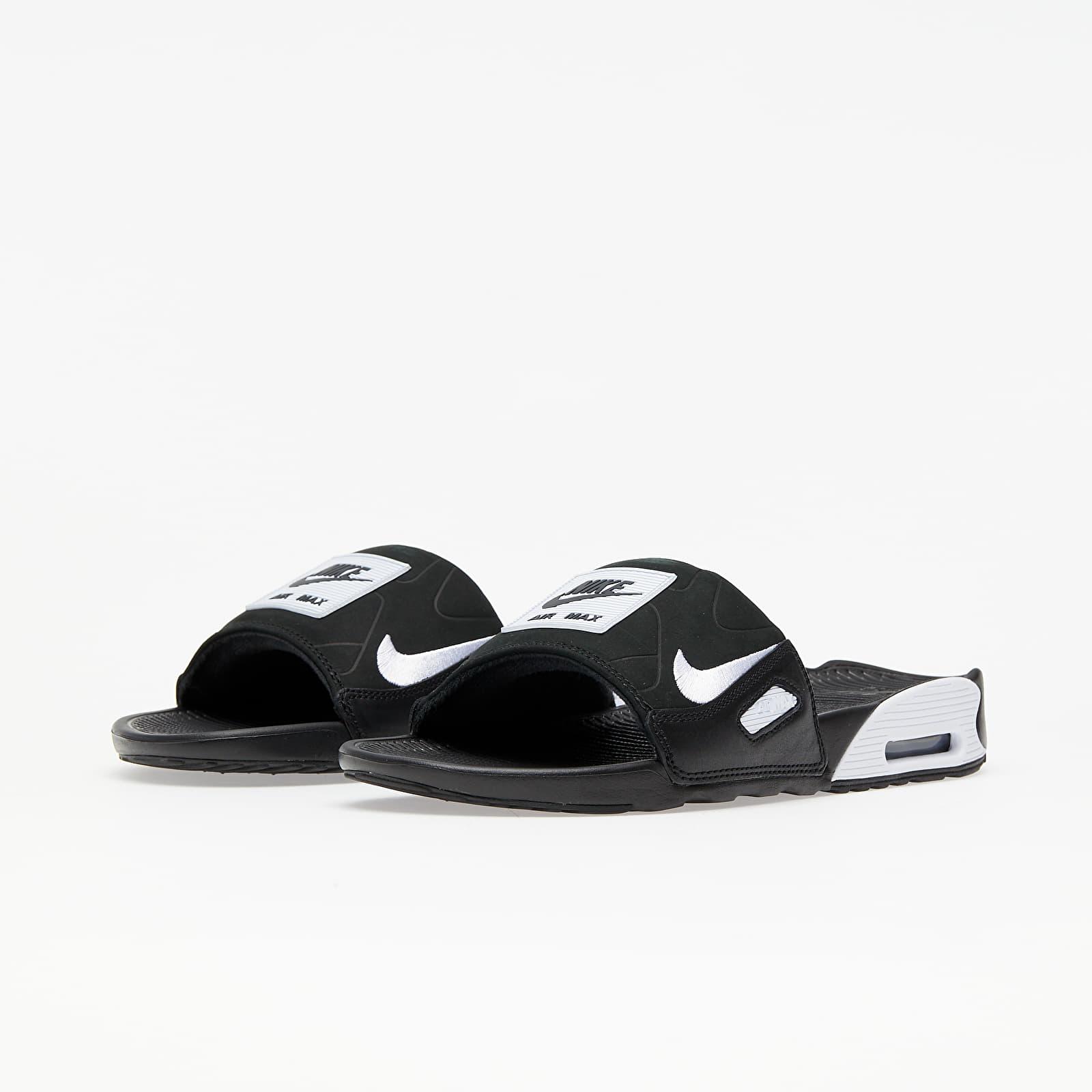 Chaussures et baskets homme Nike Air Max 90 Slide Black/ White ...