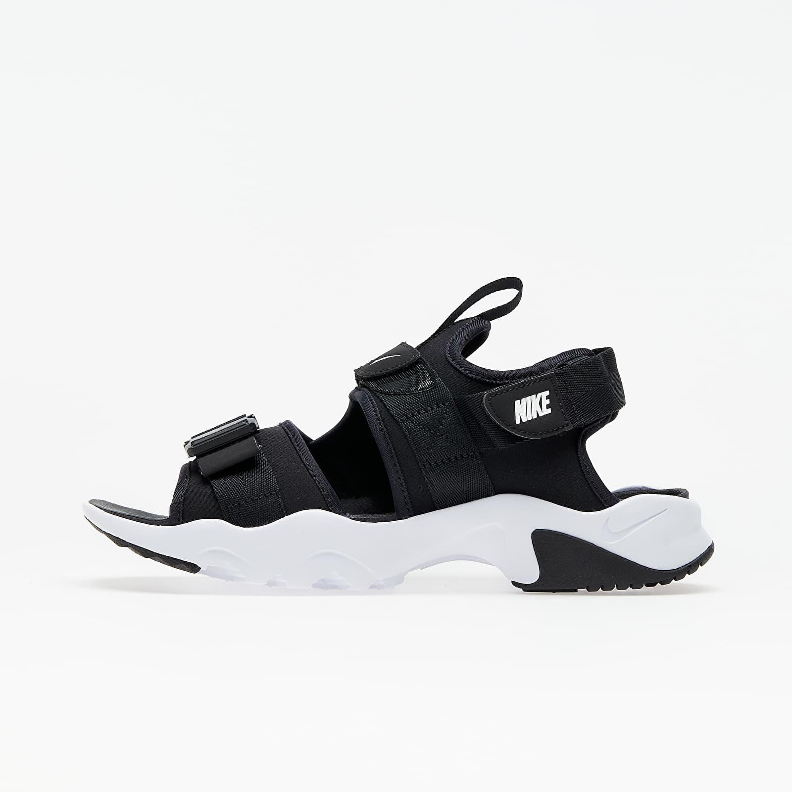 Încălțăminte și sneakerși pentru femei Nike Wmns Canyon Sandal Black/ White-Black