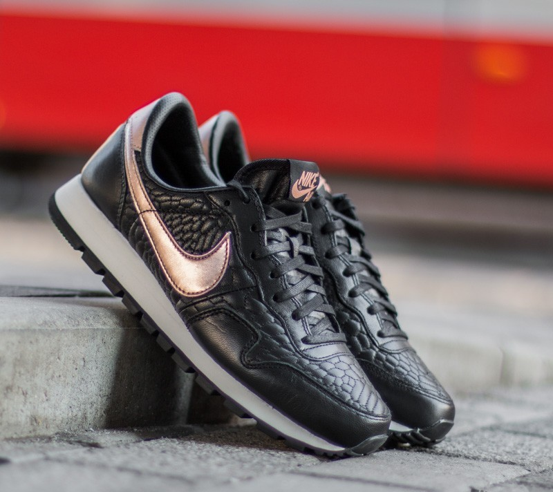 Zeer Nike W Air Pegasus ´83 Premium Quilted Black/ Metallic Rose Gold #GC96