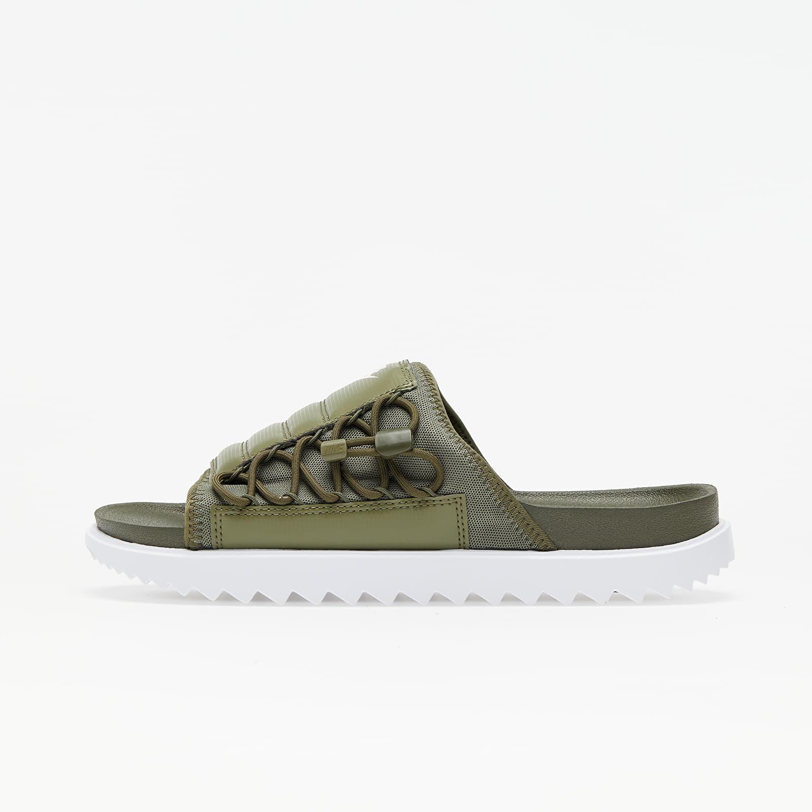 Férfi cipők Nike Asuna Slide Cargo Khaki/ Light Cream-Medium Olive