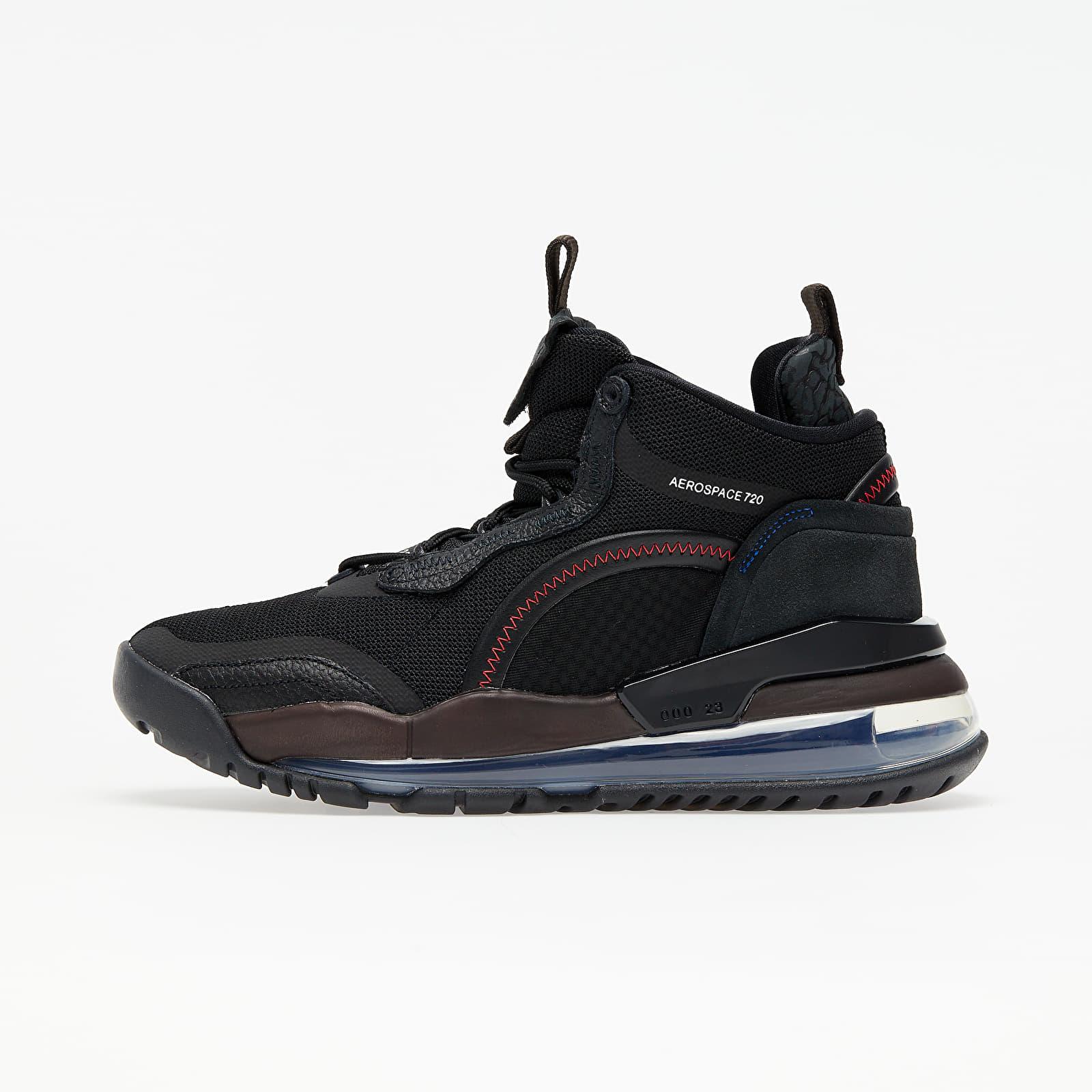 Férfi cipők Jordan Aerospace 720 Black/ White-Dk Smoke Grey-Velvet Brown