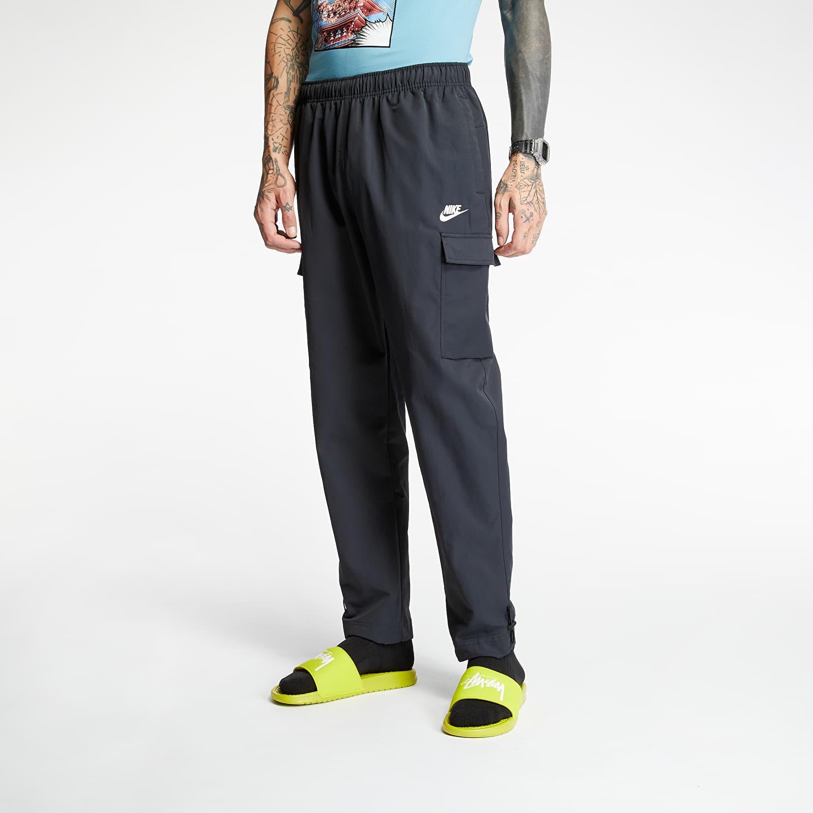 Pants and jeans Nike Sportswear Woven Pants Black/ White