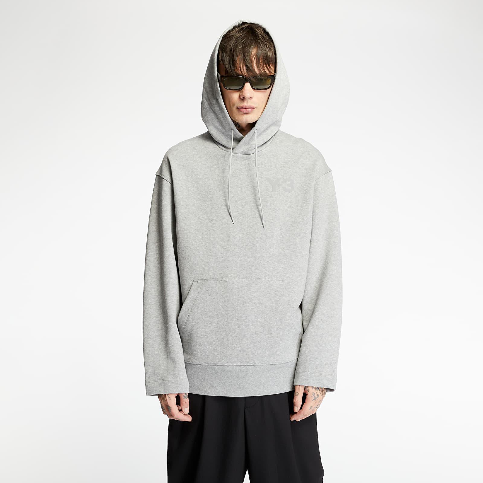 Sweatshirts Y-3 Classic Chest Logo Hoodie Medium Grey Heather