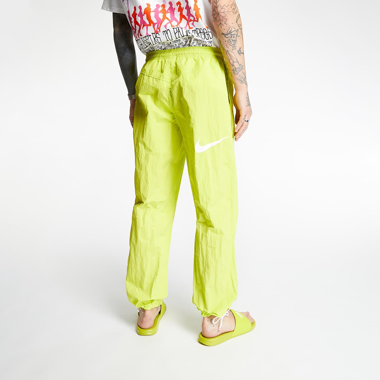 NikeLab x Stüssy Beach Pants Bright Cactus, Green
