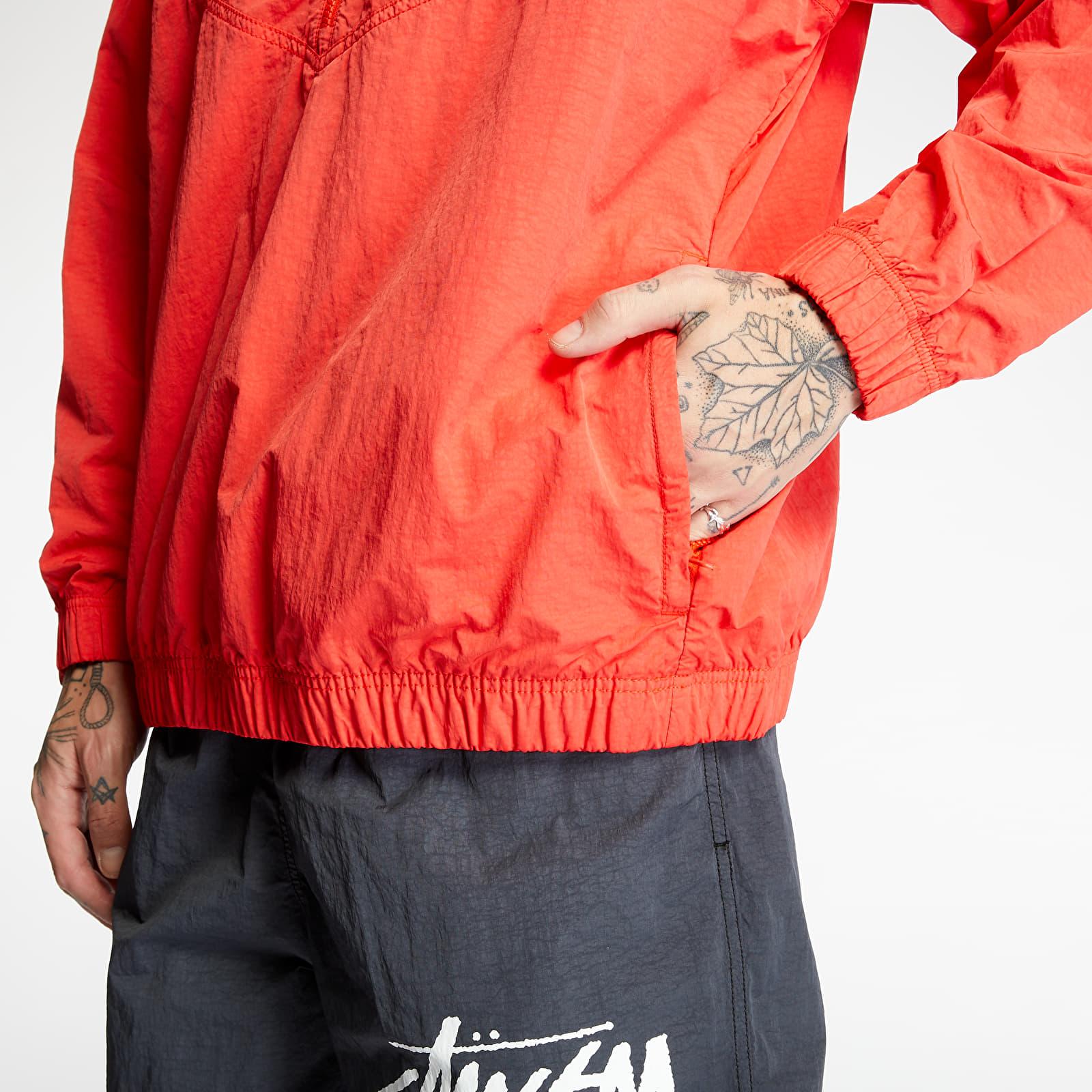 NikeLab x Stüssy Windrunner Jacket Habanero Red