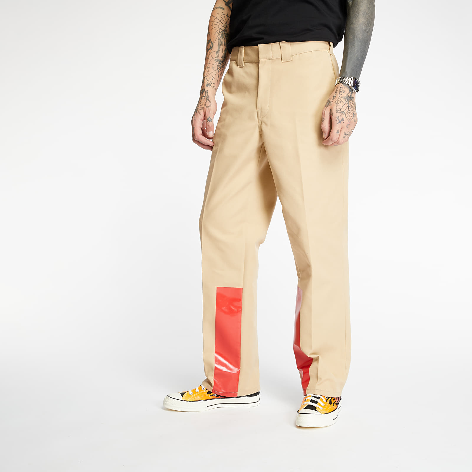 HELMUT LANG Uniform Bar Heavy Pants Mortar, Brown