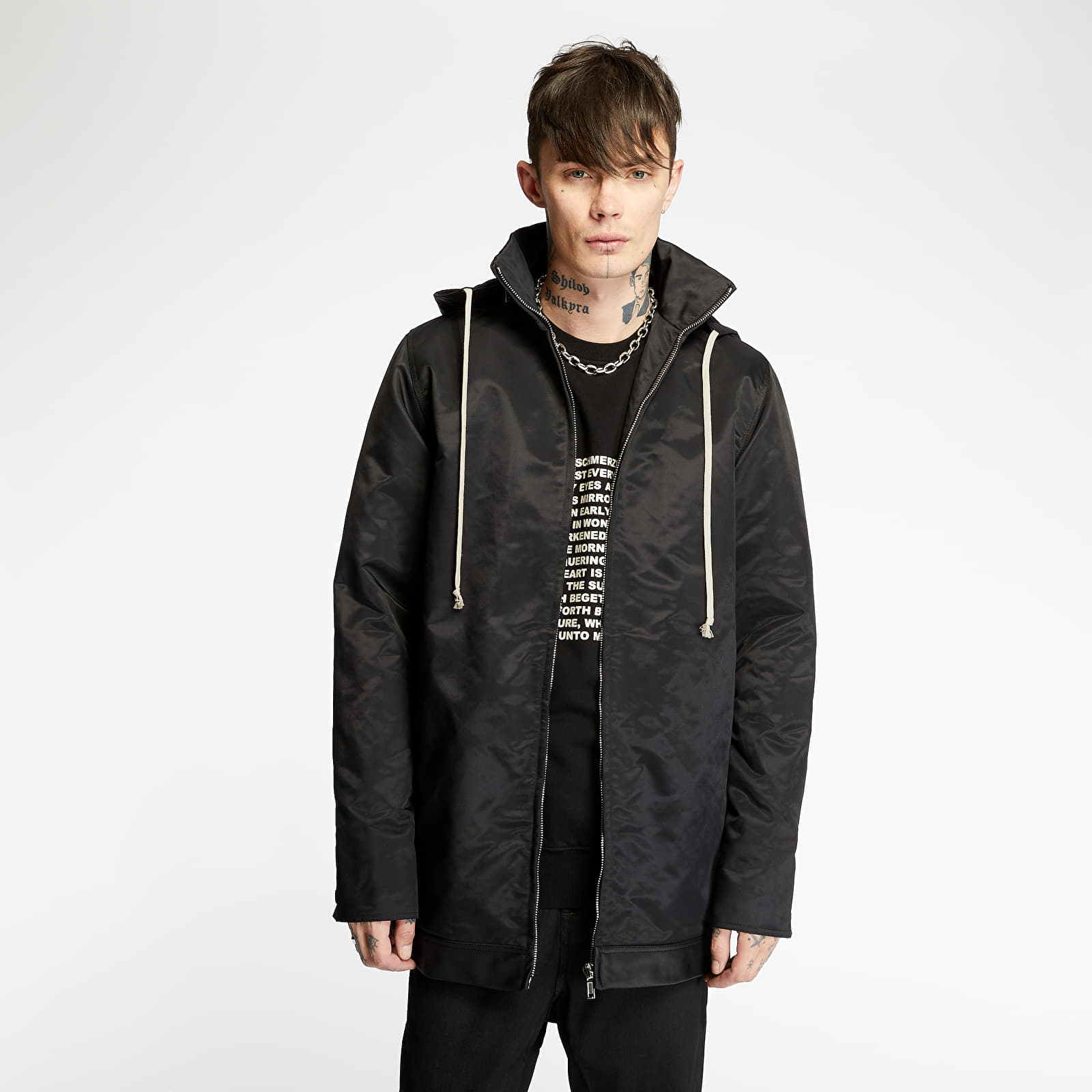 Rick Owens DRKSHDW Dirt Windbraker Jacket Black XL