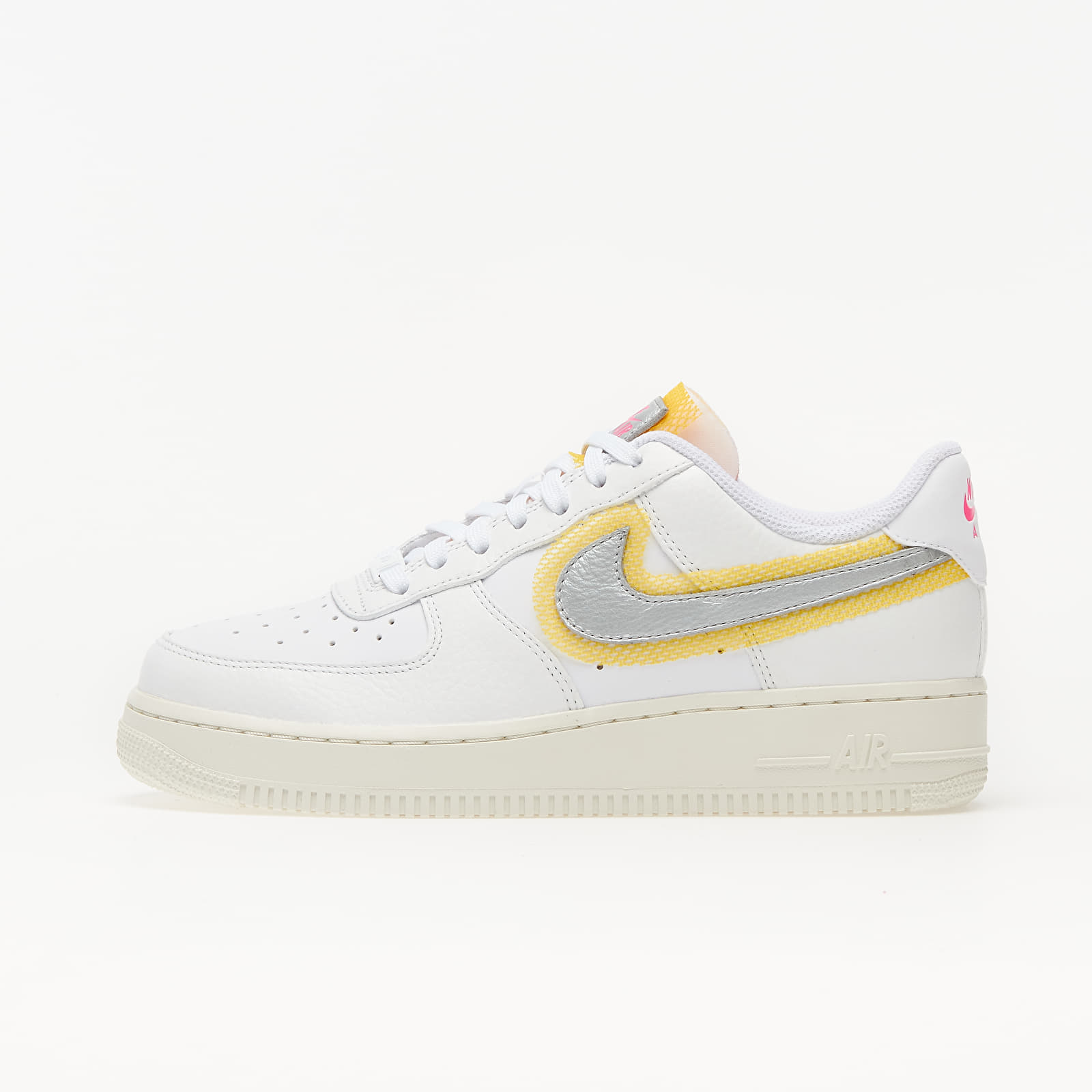 Nike Air Force 1 '07 White/ Metallic Silver-University Gold EUR 36