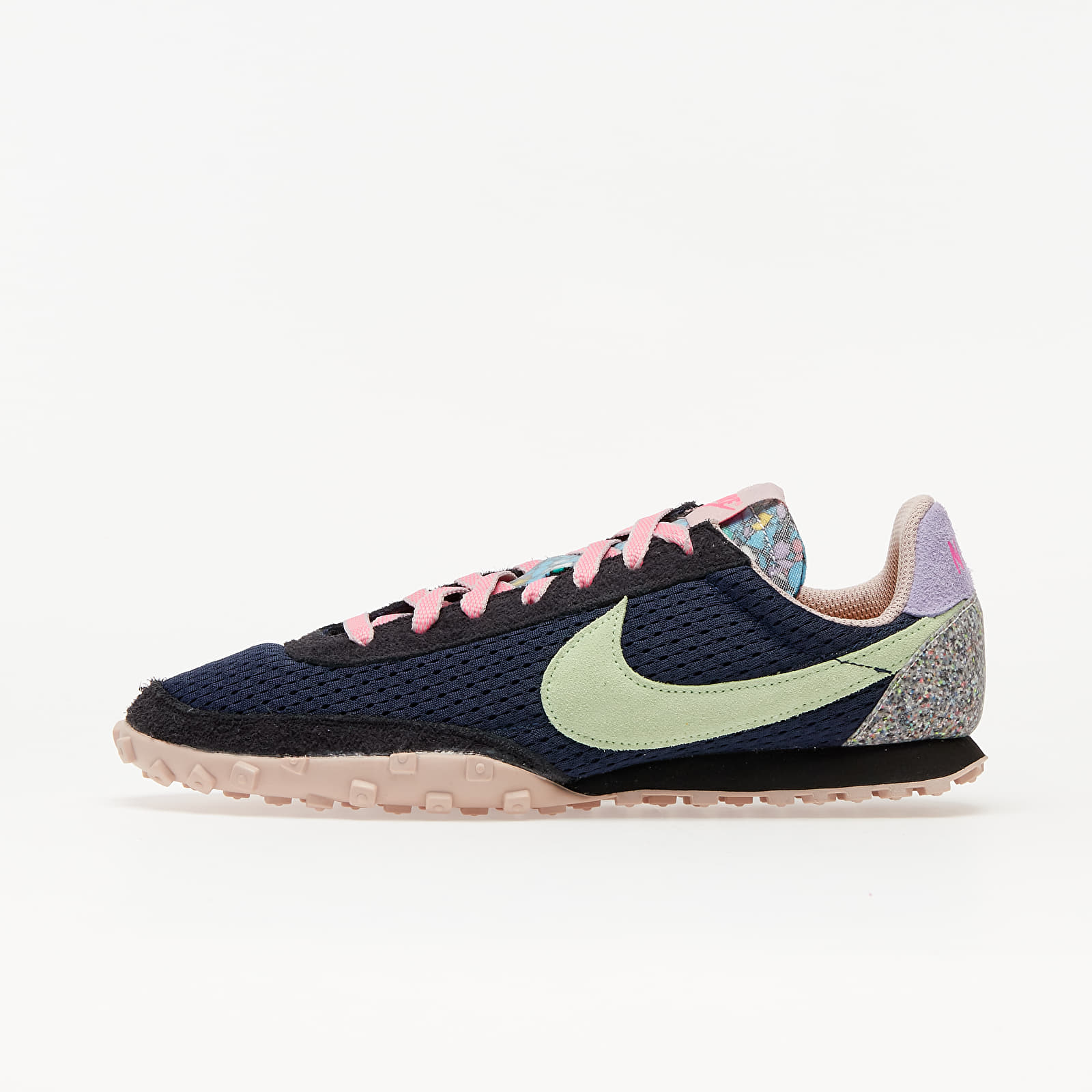Pánské tenisky a boty Nike Waffle Racer Midnight Navy/ Vapor Green-Black