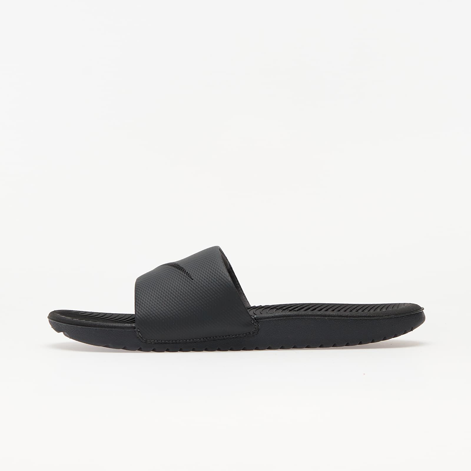 Încălțăminte și sneakerși pentru bărbați Nike Kawa Black/ Black-Anthracite