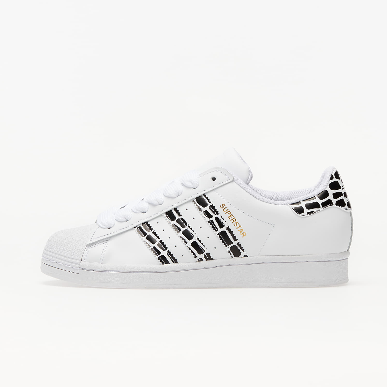 adidas Superstar W Ftw White/ Gold Metalic/ Core Black EUR 41 1/3