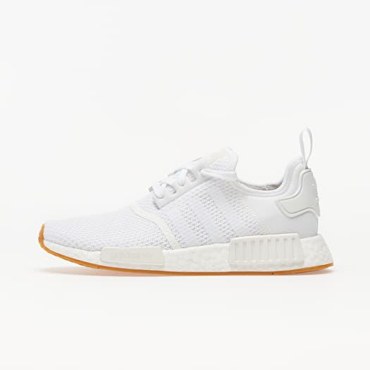 Men S Shoes Adidas Nmd R1 Ftw White Ftw White Gum 3