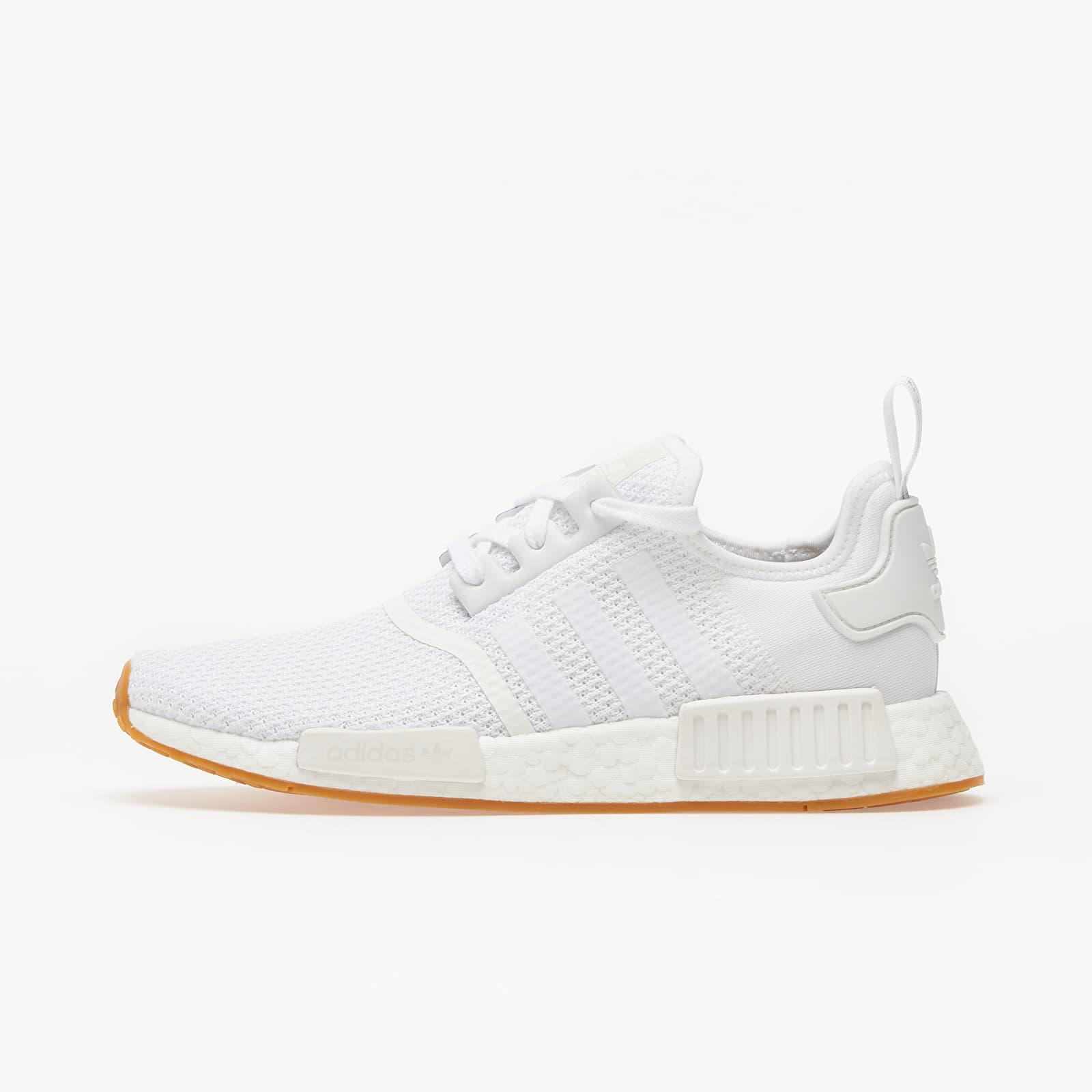 Pánske tenisky a topánky adidas NMD_R1 Ftw White/ Ftw White/ Gum 3