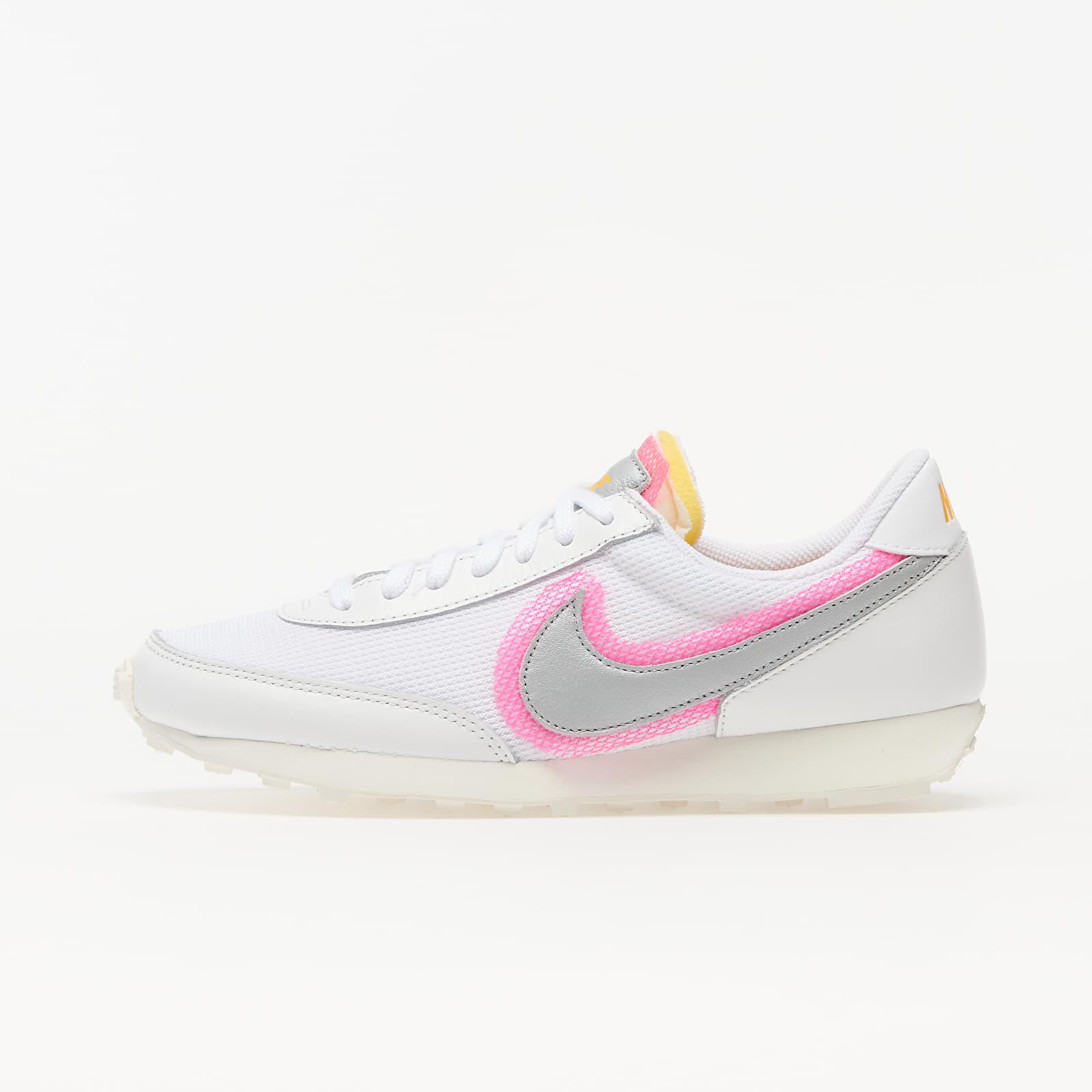 Nike Daybreak White/ Metallic Silver-Hyper Pink EUR 38.5