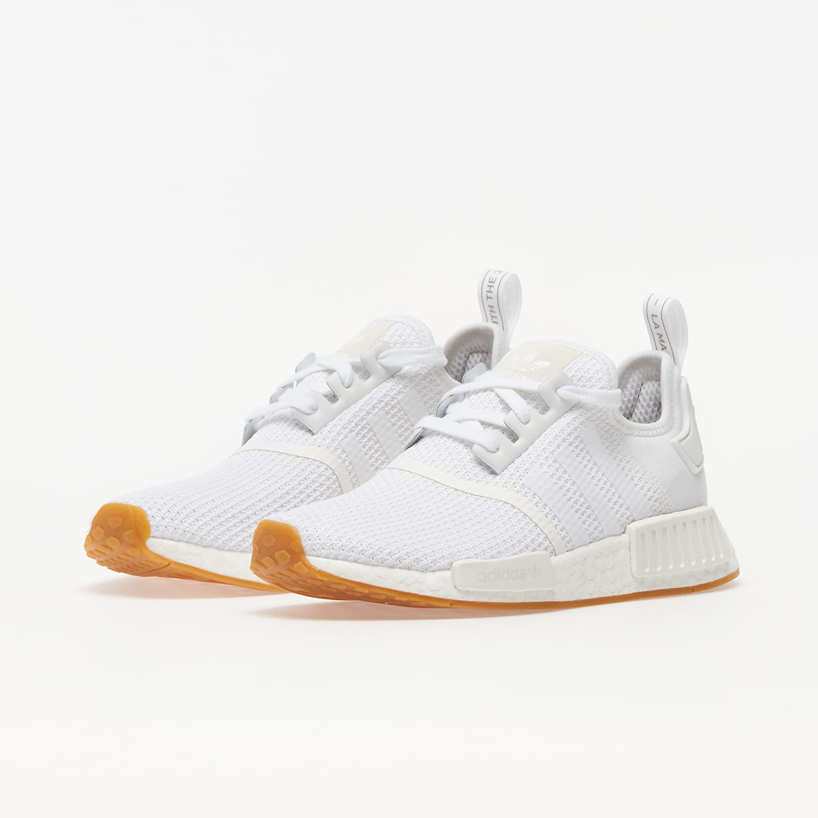 adidas NMD_R1 Ftw White/ Ftw White/ Gum 3 EUR 40