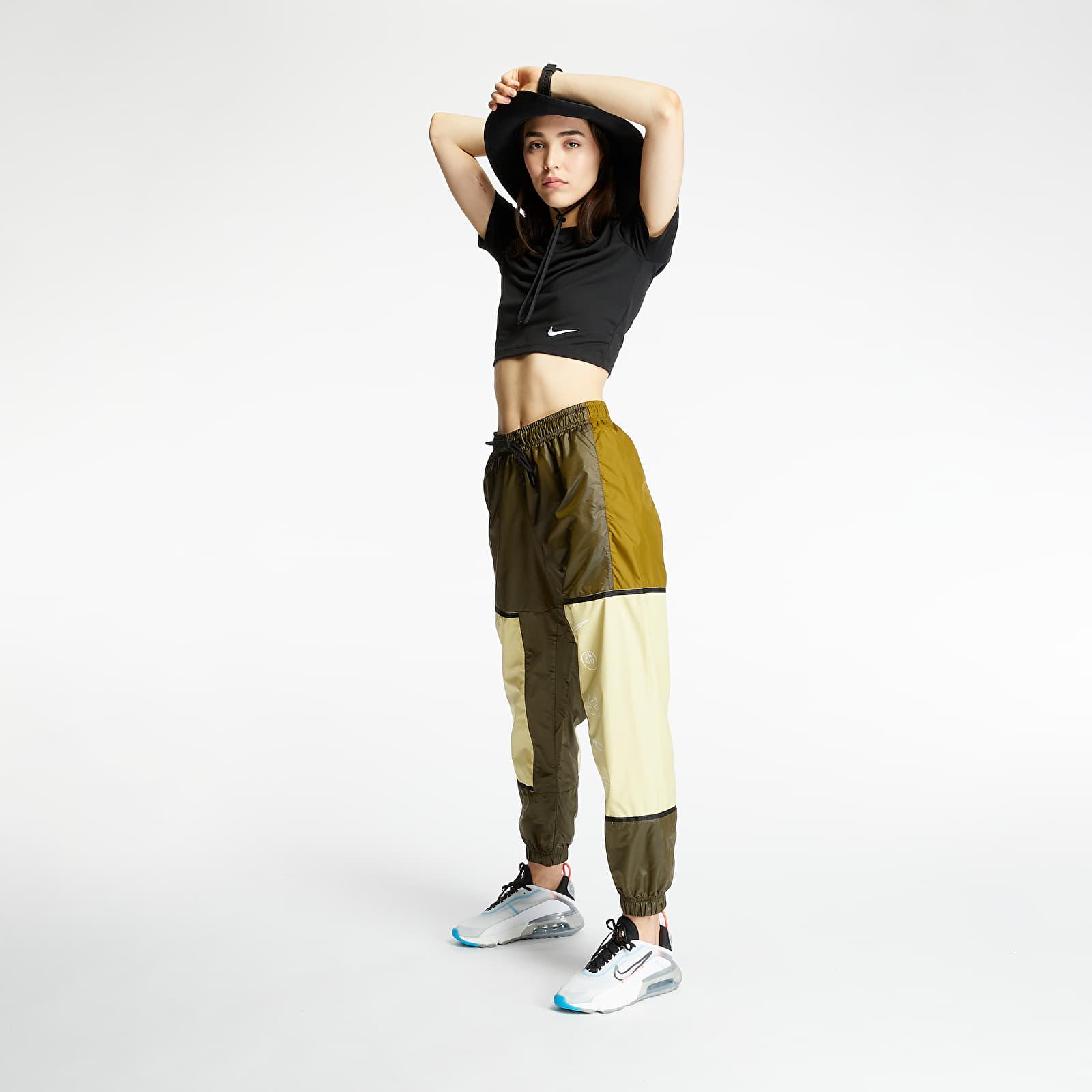 Pants and jeans Nike Sportswear Woven Pants Olive Flak/ Tea Tree Mist/ White