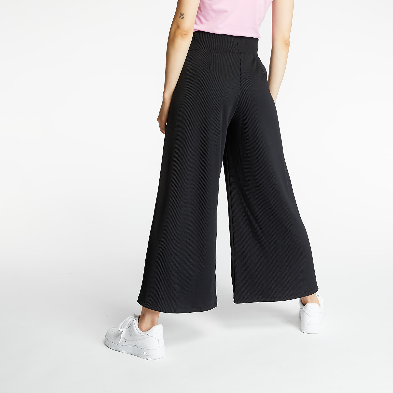 Pants and jeans Nike Sportswear Ribbed Pants Black/ White