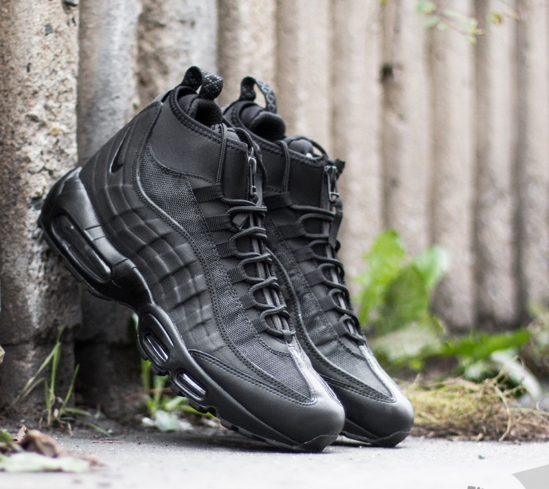 acc53dc8a9 top quality nike air max 95 sneakerboot black black 31ce6 7a405