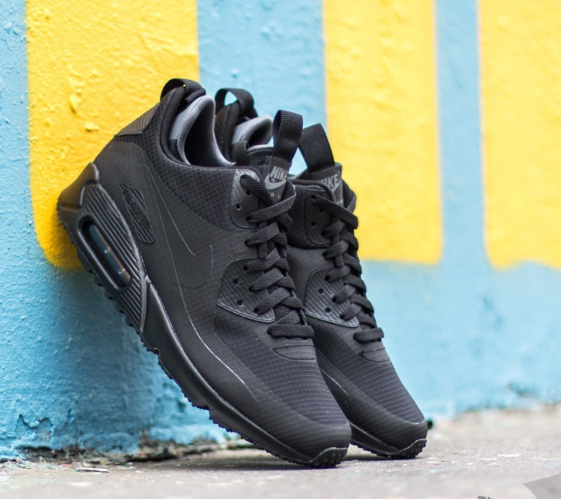 pretty nice b8e95 48a88 Nike Air Max 90 Mid Winter Black/ Black | Footshop