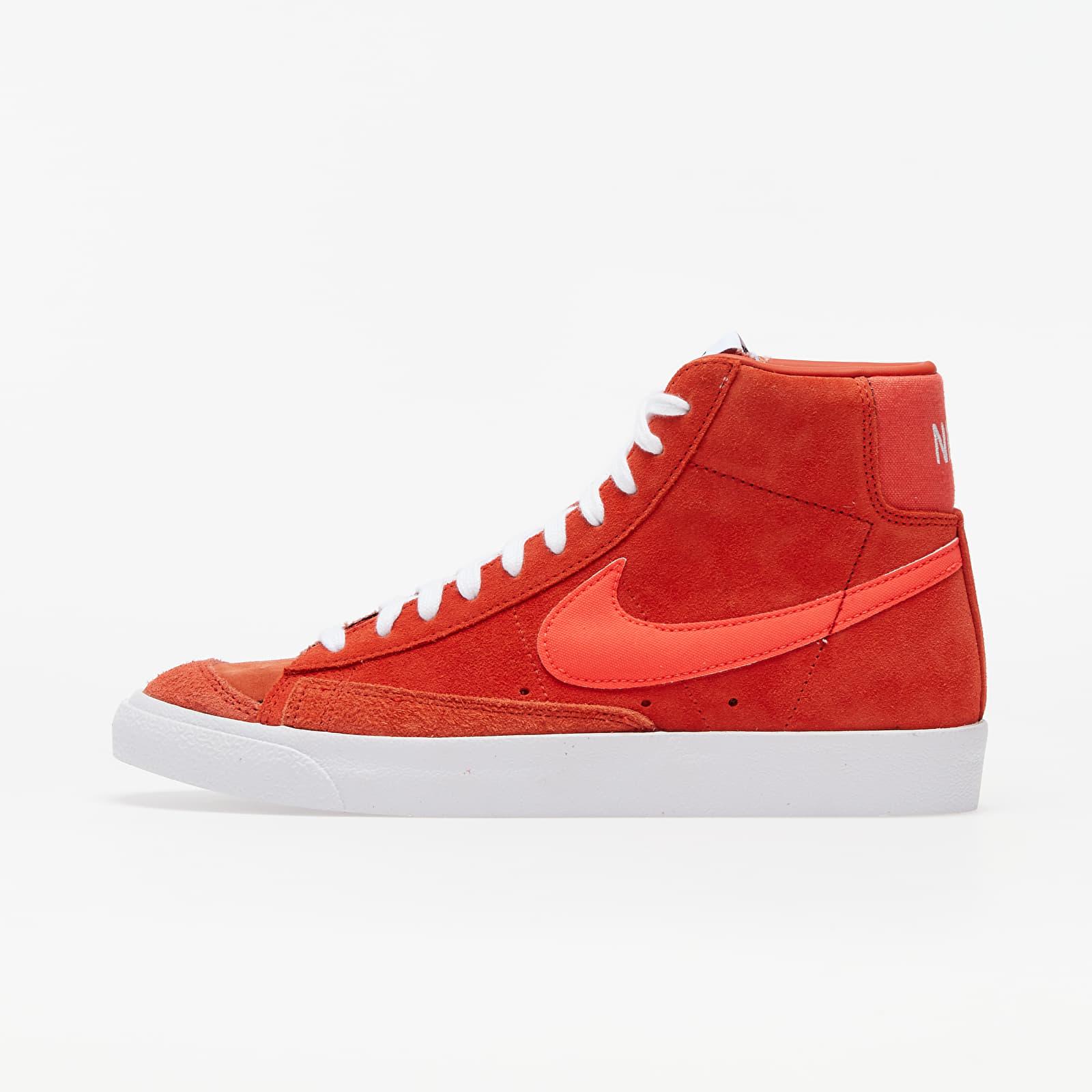 Nike Blazer '77 Vintage Suede Mix Mantra Orange/ Bright Crimson | Footshop