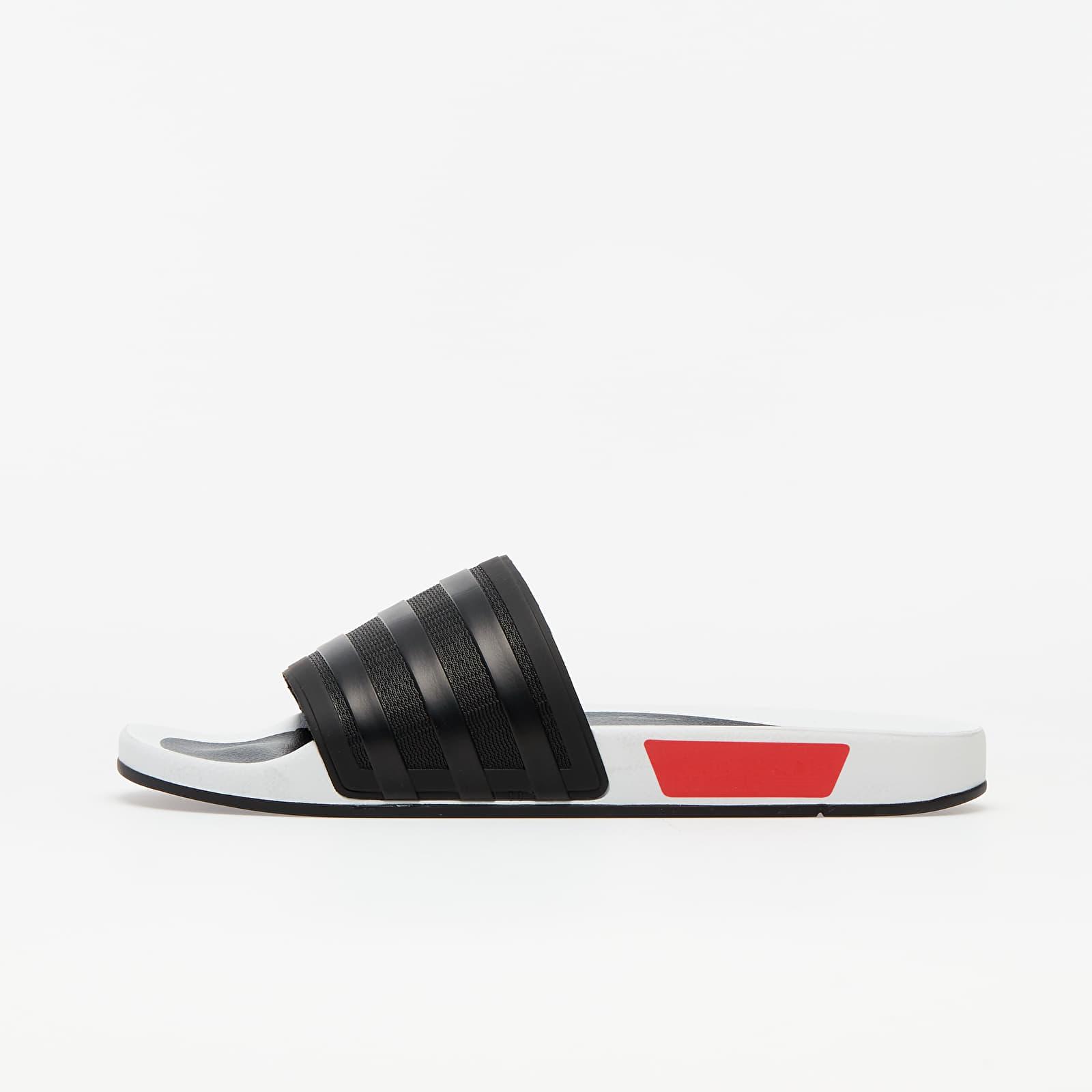 Pánske tenisky a topánky adidas Adilette Premium Core Black/ Lust Blue/ Lust Red