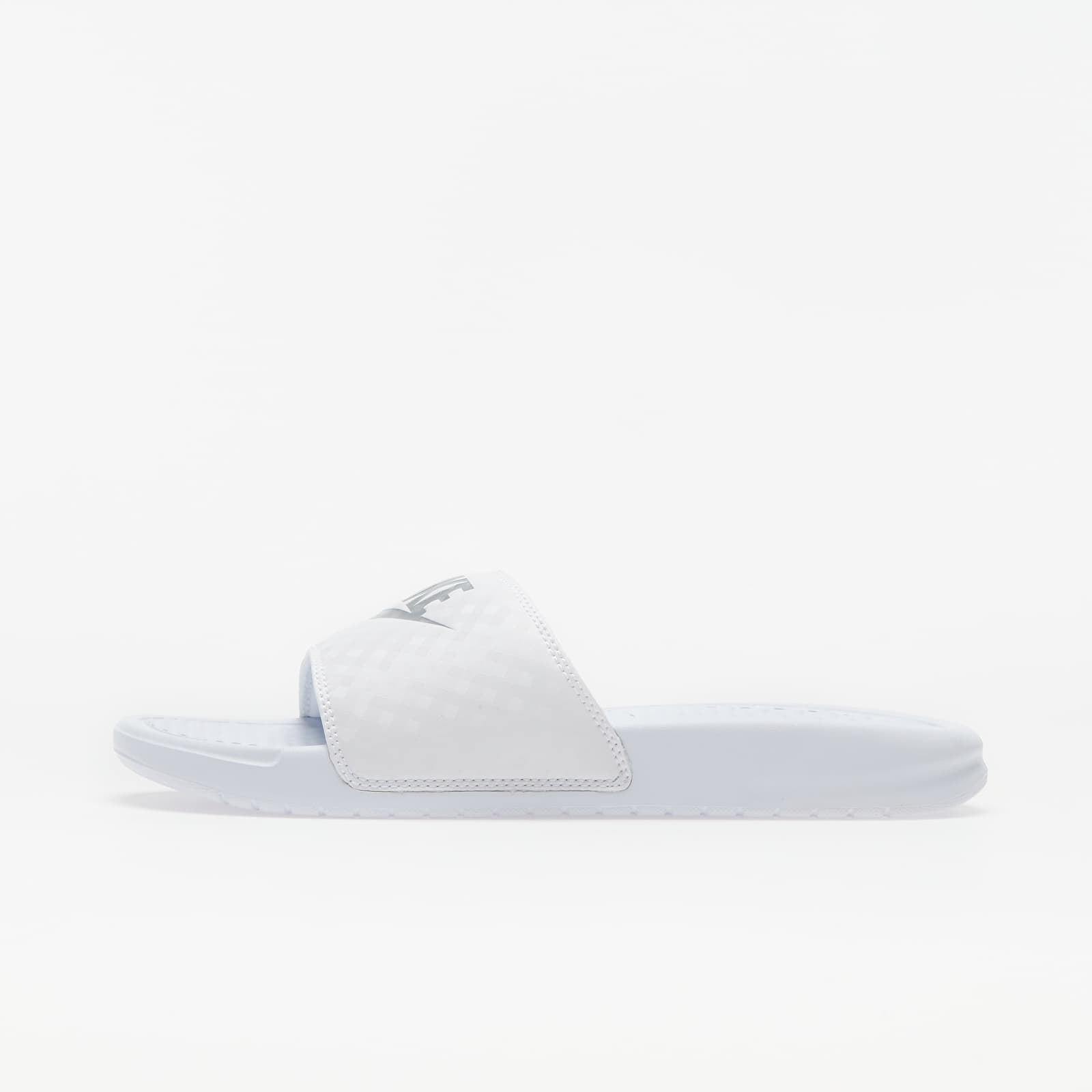Women's shoes Nike Wmns Benassi Jdi White/ Metallic Silver