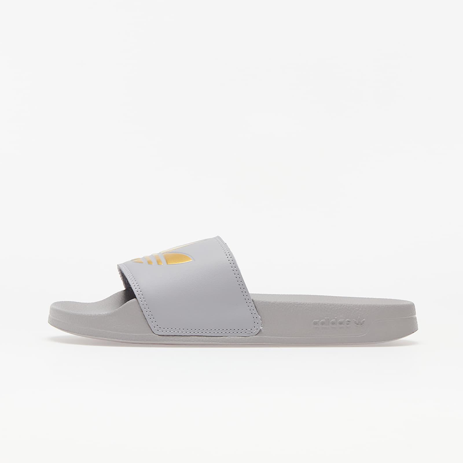 Frauen adidas Adilette Lite W Glow Grey/ Gold Metalic/ Glow Grey